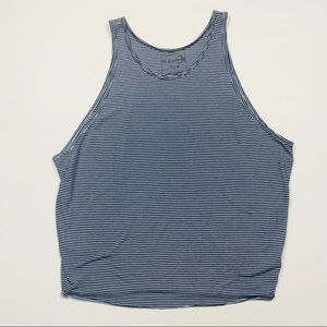 We The Free FP Free People Tank Top Navy Stripes